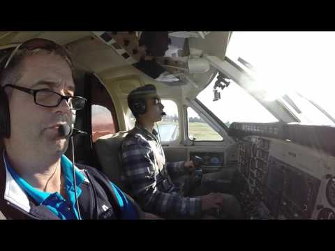 King Air Flight to Long Beach in N12GJ