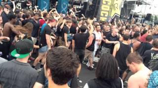 Suicide Silence - Fuck Everything (Mayhem Festival Camden 2014)