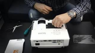 Замена лампового модуля (лампы) в проекторе Benq MX812ST(Компания Hiteklamp, www.hiteklamp.ru, Лампы для проекторов. 8-800-100-24-33 Инструкция по замене лампового блока (лампы) в проек..., 2013-11-21T08:54:20.000Z)