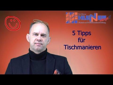 5 Knigge Tipps Tischmanieren lernen