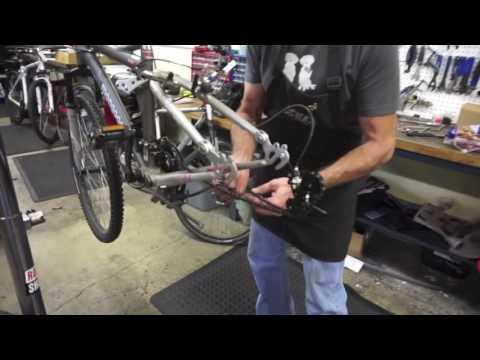 Install a bike chain.