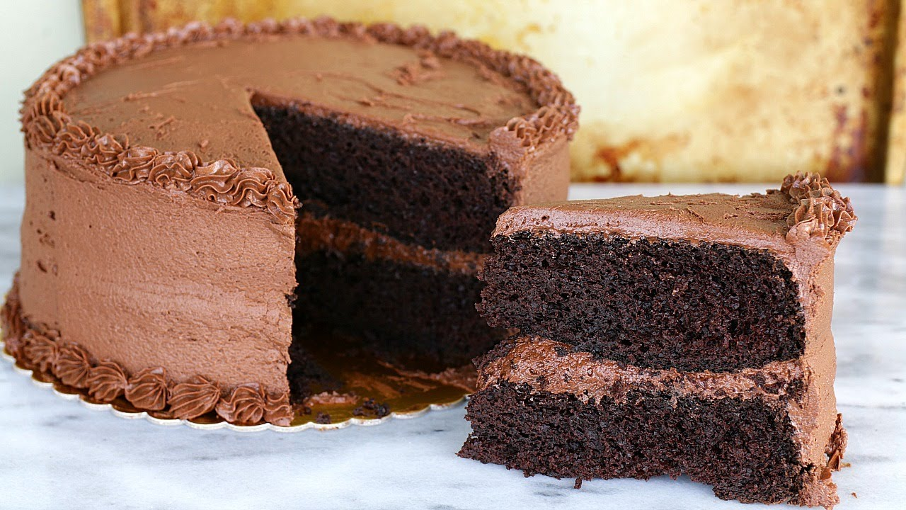 Moist Chocolate Fudge Cake Recipe From Scratch