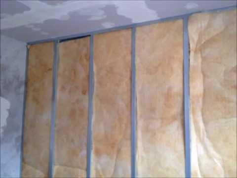 Isolamento acustico e termico pareti roma coibentazione for Miglior isolante termico per pareti interne