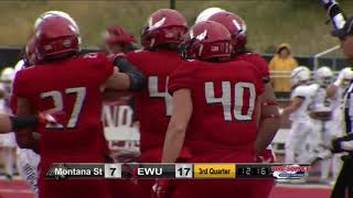 Highlights Eastern Washington Football vs. Montana State (Oct. 14, 2017).