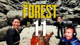 WE at The Bottom of The SINKHOLE!! - The Forest (Malaysia) ''Part 11''