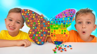 Download Vlad and Niki Chocolate Pop it Challenge