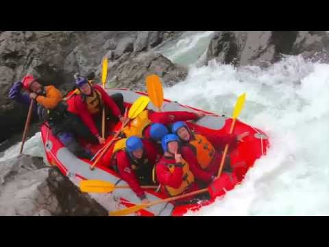 {Class 5} White Water Rafting {River Valley} New Zealand Vlog 42