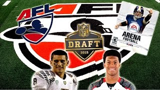 EA Sports Arena Football HD - 2015 NFL Draft Edition | The Beginning of a New Era