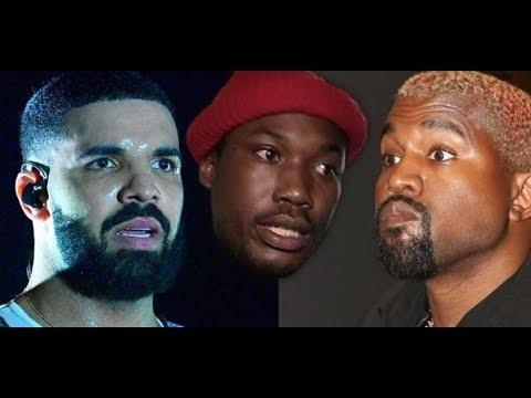 Meek Mill Trolls Drake Kanye LOL and Kanye West Exposes Travis Scott for Going Against Family