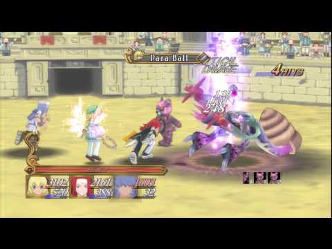 Tales of Symphonia Chronicles  (ToS) Battle Arena Team Advanced (Hard)