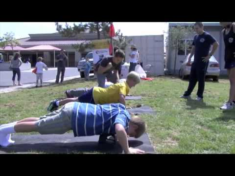 OC Teen Fitness Boot Camp - YouTube