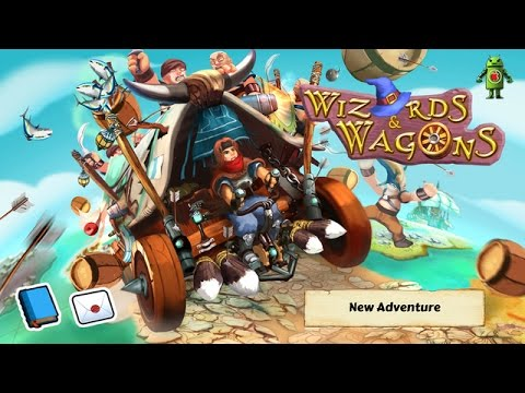 Wizards and Wagons iOS Gameplay HD