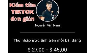 Hướng dẫn kiếm tiền và rút tiền trên tiktok | #nhayvlogs