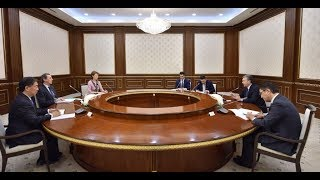 Президент Узбекистана принял делегацию Всемирного банка