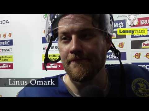 LennyTalks träffar Linus Omark och Victor Rask efter segern mot Tyskland