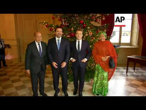 Macron welcomes Hariri for Lebanon support meeting