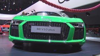 Audi R8 V10 Plus Quattro (2018) Exterior and Interior