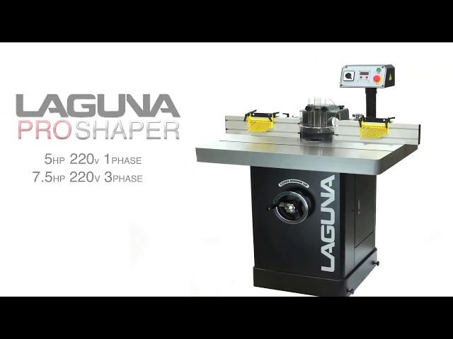 Woodworking Pro Shaper by Laguna Tools