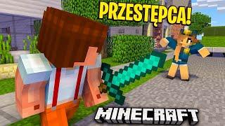 PRZESTĘPCA NA WOLNOŚCI! - Minecraft GLINIARZE #3