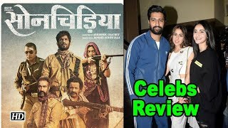 'SON CHIRIYA' Celeb Reviews | Bhumi & Sushant