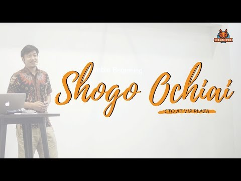 A Message from the CTO of VIP Plaza | Shogo Ochiai