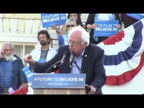 Bernie In Monterey, CA!