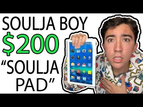 I WASTED $200 On Soulja Boys NEW Soulja Pad 😂