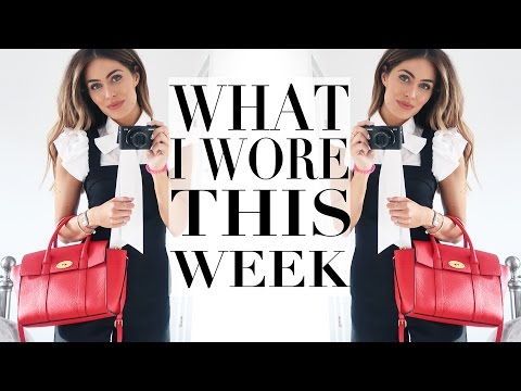 WHAT I WORE & DID THIS WEEK | Lydia Elise Millen