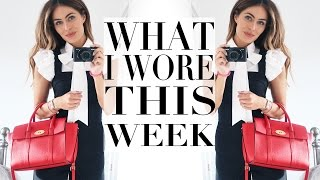 what i wore did this week   lydia elise millen