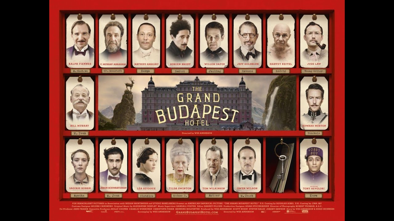 The Grand Budapest Hotel Review Youtube