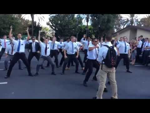 LDS Missionaries do the Haka
