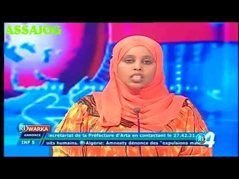 Djibouti: Warkii Maanta 24/10/2017