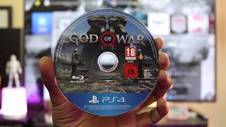 GOD OF WAR 4 Unboxing For PS4 Pro