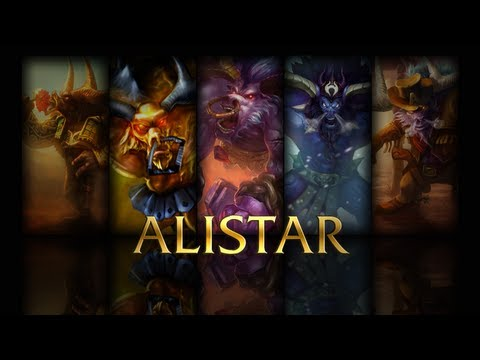 League of Legends: First ranked of the new season, Jungle Alistar!