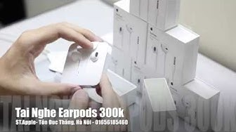 Tai Nghe Apple Earpods 300k Review