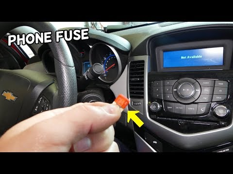 CHEVROLET CRUZE PHONE BLUETOOTH NOT WORKING. PHONE NOT CONNECTING
