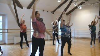 Италия: уроки танцев для мам с грудными малышами (новости)