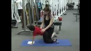 Упражнения для детей при сколиозе(НАРУШЕНИЕ ОСАНКИ. Комплекс лечебно-гимнастических упражнений при сколиозе у детей. Ребенку нужно привыкну..., 2013-11-25T13:05:52.000Z)