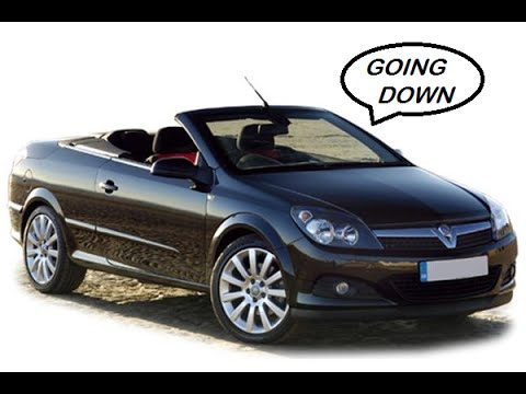 Vauxhall Astra Twintop Remote Roof Operation Roof Down