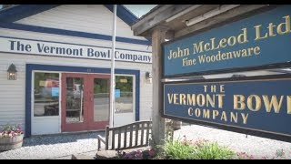John McLeod Ltd. & The Vermont Bowl Company on The Visitors Guide to Southern Vermont