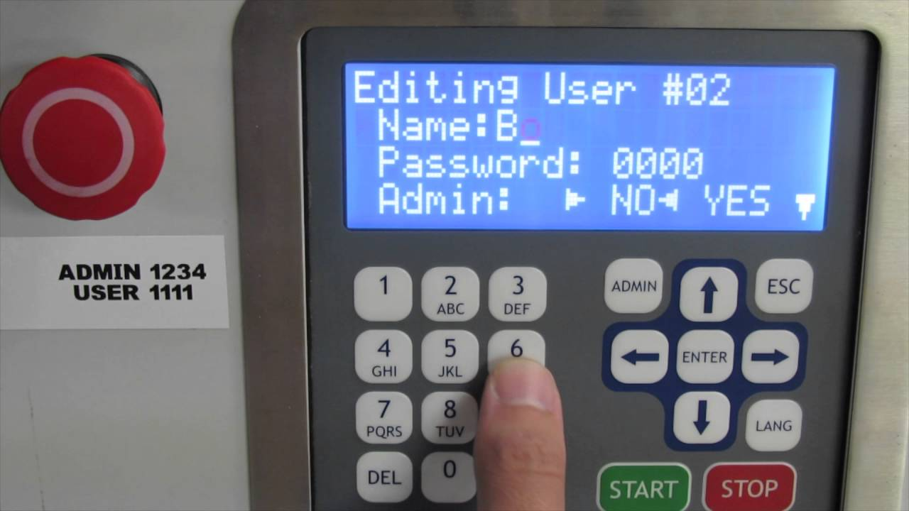 How to Add, Edit, or Delete Users on an ALX-LITE or ELITE Chemical Controller