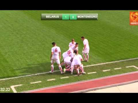 Miloš Zečević(Montenegro, Rudar Pljevlja) Scores From Free Kick Vs Belarus