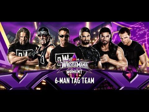 Wwe The Shield VS. The N.W.O. - العاب المصارعة الحرة - مصارعة حرة فريق هوجن