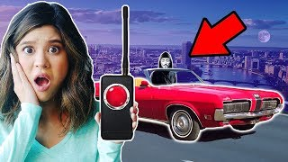 SPY GADGET from HACKER GIRL CONTROLLED CAR CHASE (solving clues to blackout doomsday announcement)