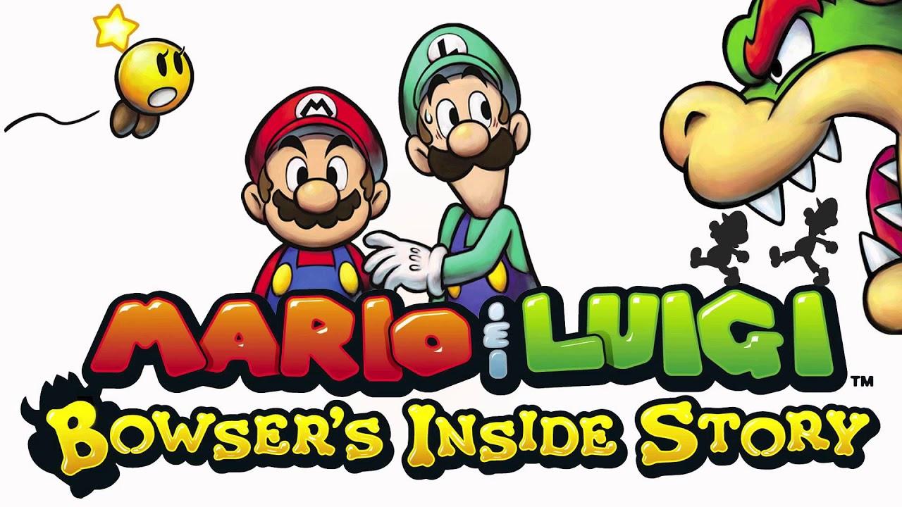 Mario Luigi Bowser S Inside Story To A New Adventure Cover