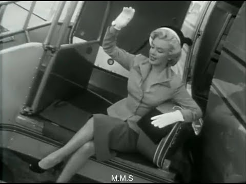 "Marilyn Monroe -  ""I'm Terribly Grateful"""
