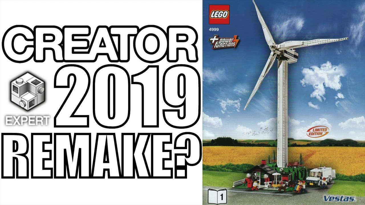 lego creator expert wind turbine returning in 2019 youtube. Black Bedroom Furniture Sets. Home Design Ideas