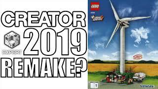 LEGO Creator EXPERT Wind Turbine Returning In 2019?