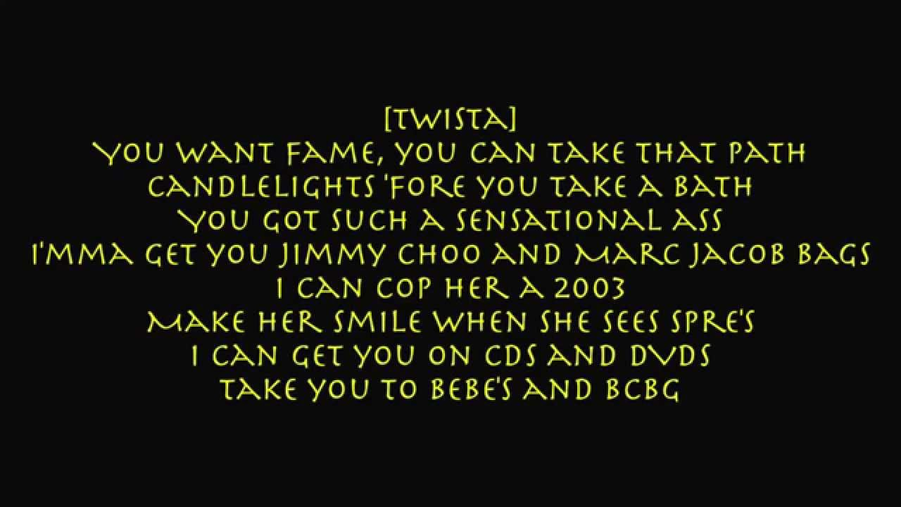TWISTA - OVERNIGHT CELEBRITY LYRICS