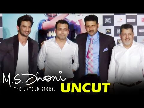 M.S.Dhoni - The Untold Story | Sushant Singh, M.S. Dhoni, Neeraj Pandey | Press Conference
